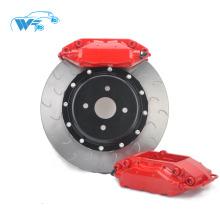 Pièces de freins autobloquants rouges pour Golf MK5 17RIM WT-f40