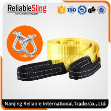 Custom 100% Polyester Heavy Duty off- Road Recovery Vehicle Tow Strap