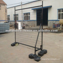 Galvanized before welding wire mesh+tube temporary fencing designs