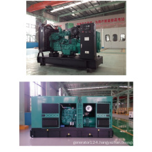 18-375kVA China Diesel Generator Set with Soundproof Canopy Enclosure Gd Series