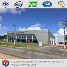 Prefabaricated Metal Frame Car Sales Shop