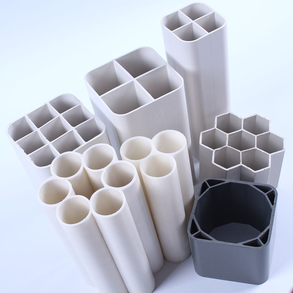 Multi hole tube