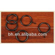 Anel de cortina de ferro, anéis de olho de metal de cortina, anel de cortina de aço inoxidável