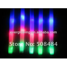 palo de plástico con luz led