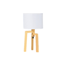 Home Decoration Reading Table Wooden Tripod Table Lamp