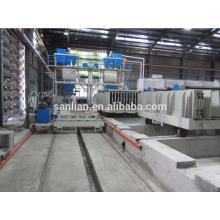 Máquina de fabricação de painéis de parede em sanduíche de concreto leve