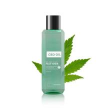 Organic Hemp Seed Oil Skin Toner Manufacturers Facial Fruit Toner with Cbd