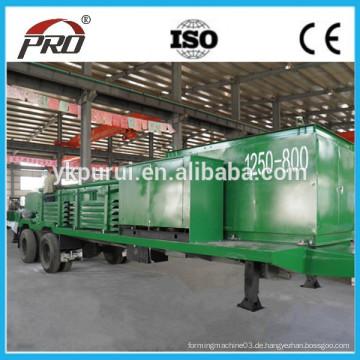 Stahlbogenbaumaschine / Dachblechherstellungsmaschine