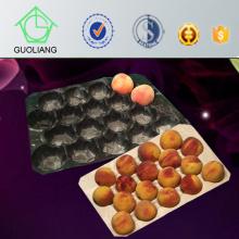 Vide jetable bon marché Différentes tailles vide en plastique coloré formant le plateau de fruit pour l'usage de fruit frais en pierre dans le supermarché