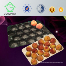 Thermogeformte Blister Verpackung 23X38cm, 39X59cm Schwarz Standard Lebensmittelsicherheit Grade PP Tomato Insert Tray