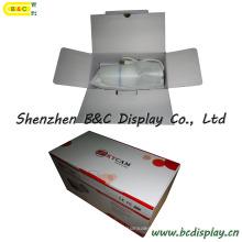 La fábrica proporciona directamente una caja de papel, una caja de paquete de colores con una caja de impresión con recubrimiento brillante y económica (B & C-I021)
