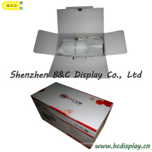 L'usine fournissent directement la boîte de papier, boîte colorée d'emballage avec le glacé enduit, la boîte d'impression bon marché (B & C-I021)