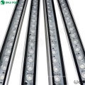 CE ROHS color changing landscape 24w aluminum 48pcs smd5050 rgb linear led wall washer light