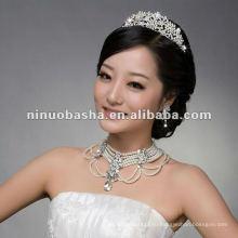 Горячая Продажа Свадебные короны и ожерелья