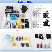 Professoinal 2 máquinas del tatuaje kits del tatuaje del arma Venta para el artista