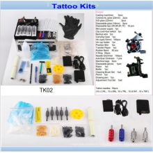 Professoinal 2 Tattoo Machines Gun Tattoo Kits Vente pour l'artiste