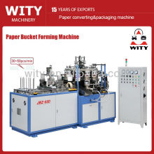 Middle Speed Paper Bucket Machine (single plate)