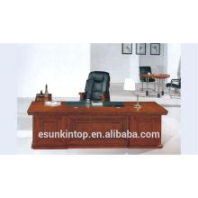Bureau de placage en bois bureau bureau bureau de bureau