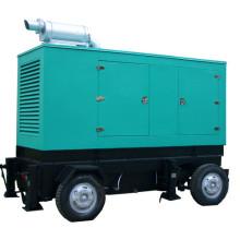 Прицепный дизельный двигатель Мобильный генератор 200кВА 50Гц