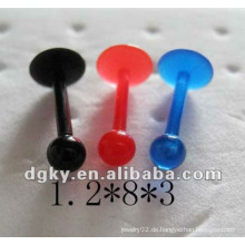 Großhandel billige Lippe piercing Ringe Playboy Piercing Labret