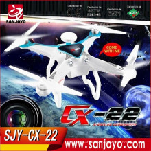Amazing Cheerson CX22 CX-22 Follower 5.8G Dual GPS FPV With 1080P Camera Quadcopter VS CX20