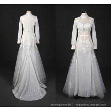 Robe de mariée sirène à la mode musulmane longue soirée robe de mariée Wy7332