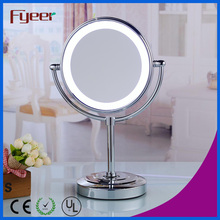 Fyeer Ultra Thin Double Side Cosmetic Table Mirror со светодиодной подсветкой