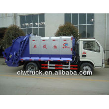 Camión de basura 4000L, camión compactador de basura