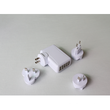 5ports USB charger for mobile, US EUR AU UK TW JP option