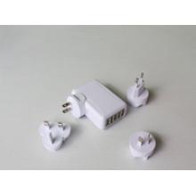 Carregador USB 5ports para celular, US EUR AU UK TW JP opção