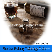 Whiskey Stainless Steel Ice Cube Wine Chillers Stone