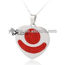 Collier de bijoux à la mode 2014 style populaire en acier inoxydable bijoux en chaîne fournisseur chinois pour les femmes