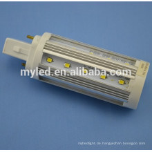G24 2pin / 4pin 6W / 7W / 9W / 10w12W / 13W Wahlweise freigestellter LED-Stecker in Glühlampen SMD2835