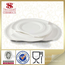 Wholesale chinaware, stock restaurant plate, ceramic platter