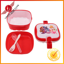 Hot Sale Square Shape Lunch Box for Childern