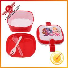 Коробка горячая Распродажа квадратной формы обед для childern