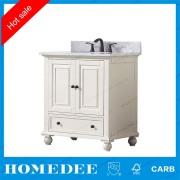 HomeDee vanidad con el fregadero lavabo