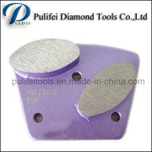 Almofada de diamante de piso Almofada de moagem de pedra Diamante de moagem de pedra