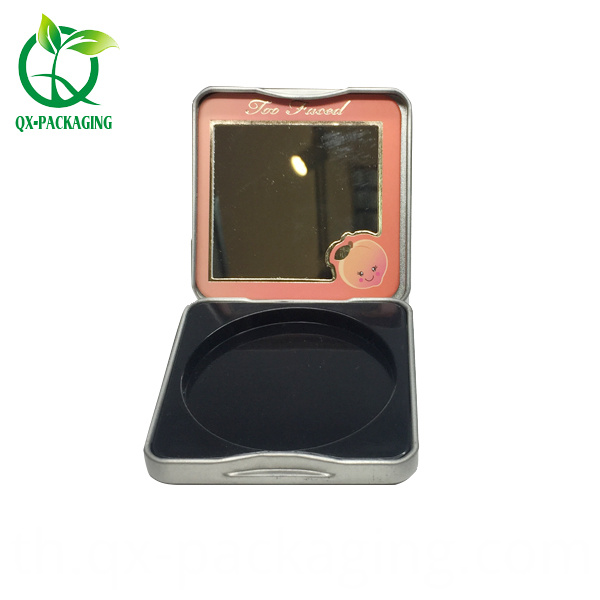 Mini Cosmetic Storage Tin Case
