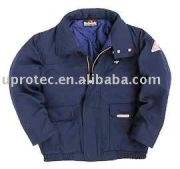 High Performance Nomex IIIA Leather Pilot Jacket