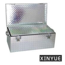 Boîte de rangement en aluminium