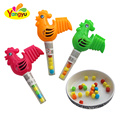 Funny Design Children Cartoon Chicken Tray Toy with Candy