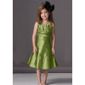 A-linje Scalloped halsband Flower Girl Dress