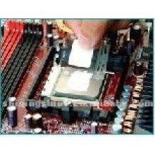 Gel de graisse de silicone thermo-conducteur conducteur de composants électroniques