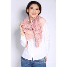 Châle en tricot acrylique (QT3.3)