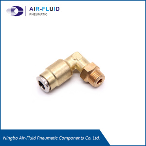Air-Fluid High Pressure Angled Screw Connection Fittings.