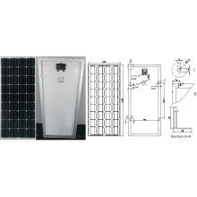 Monokristallines Solarmodul PV-Modul 18V 90W 100W mit Ce genehmigt
