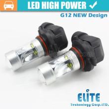 30w G12 9005 9006 HB3 Auto Lampe Nebelschwanz drehen Bremse Reverse Auto LED-Licht