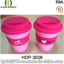 350ml BPA frei Kunststoff Kaffeebecher Travel Mug mit Hülse (HDP-3028)