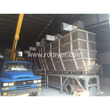 Xf Series Horizontal Fluidizing Dryer for Granulating Machine